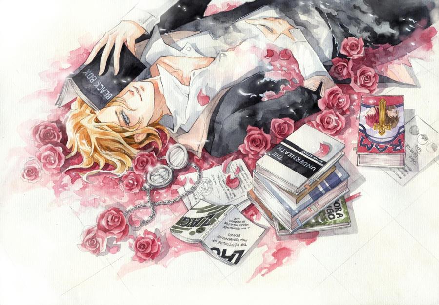 Like a Rose by meodualeo