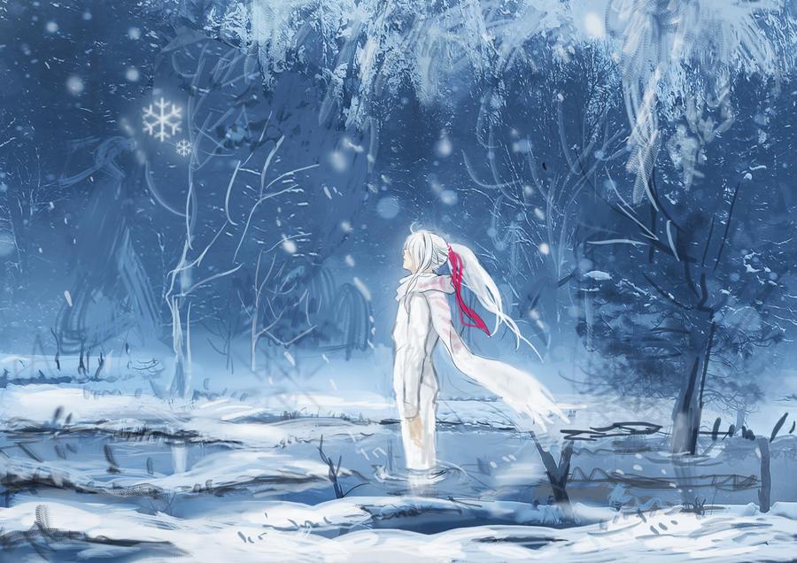 Blanket of Snow by meodualeo