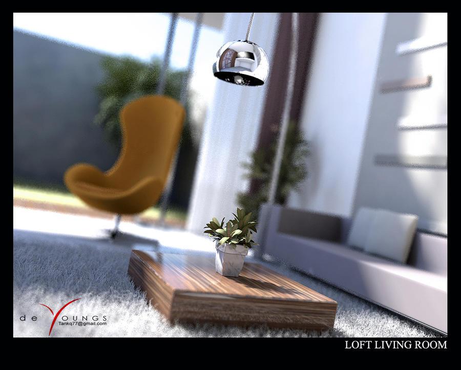LOFT LIVING ROOM 5 by TANKQ77
