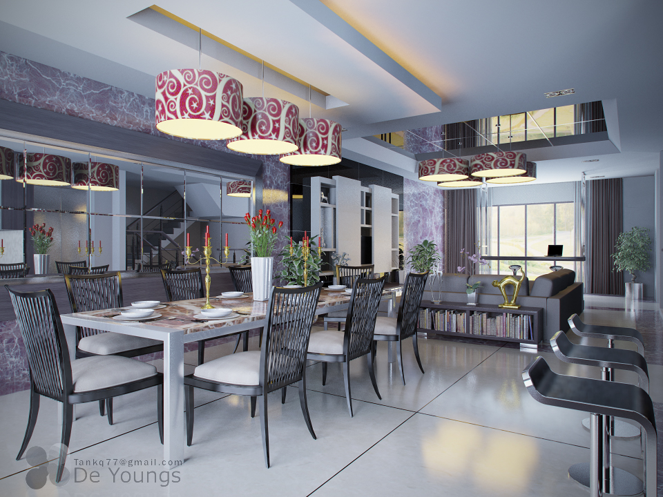 LIVING AND DINING ROOM 1