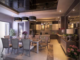DINING AND PANTRY, MEDAN by TANKQ77