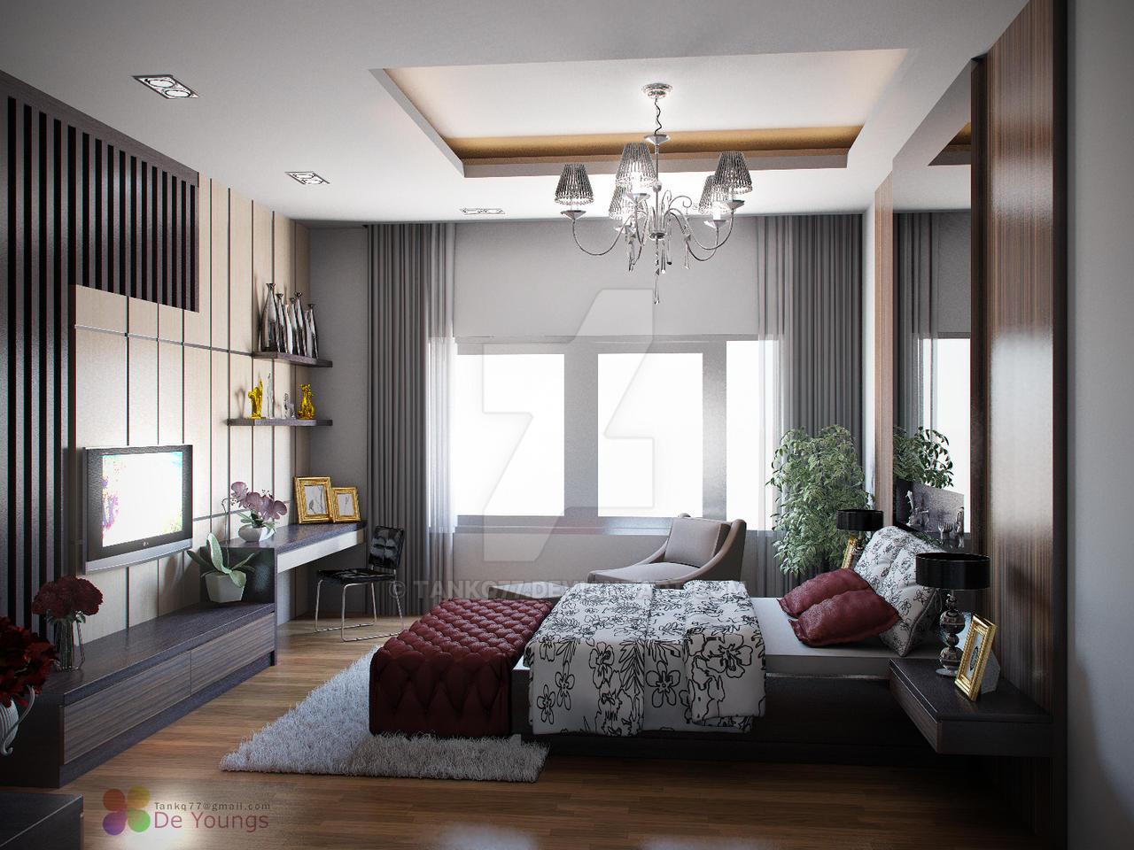 MASTER BEDROOM DESIGN, MEDAN by TANKQ77