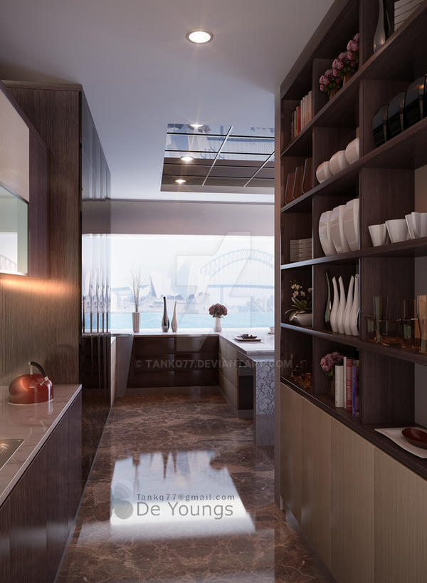 PANTRY AT SPRINGHILL RESIDENCE by TANKQ77