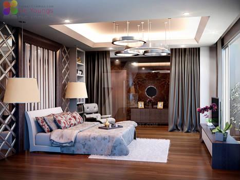 MASTER BEDROOM CIBUBUR JAKARTA