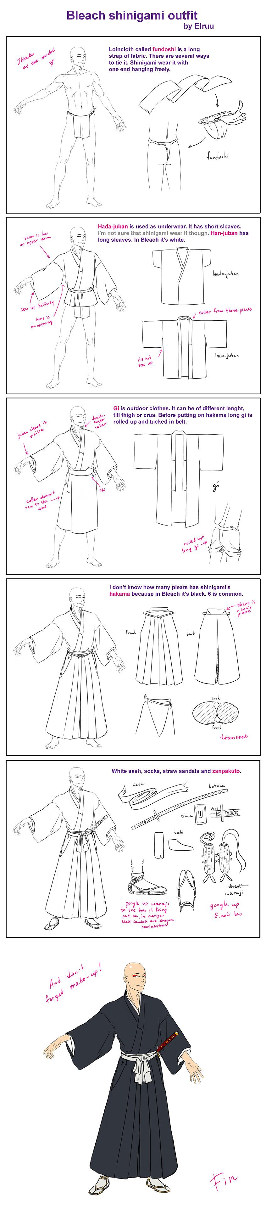 Bleach shinigami outfit