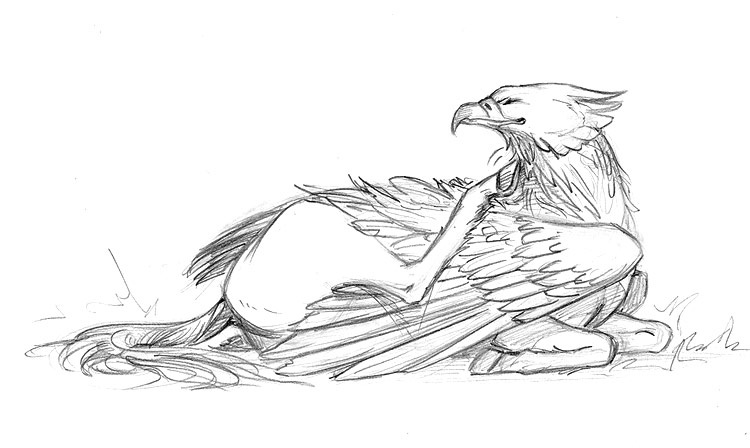 coloring pages buckbeak - photo#23