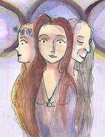 three women by EmmyvanRuijven