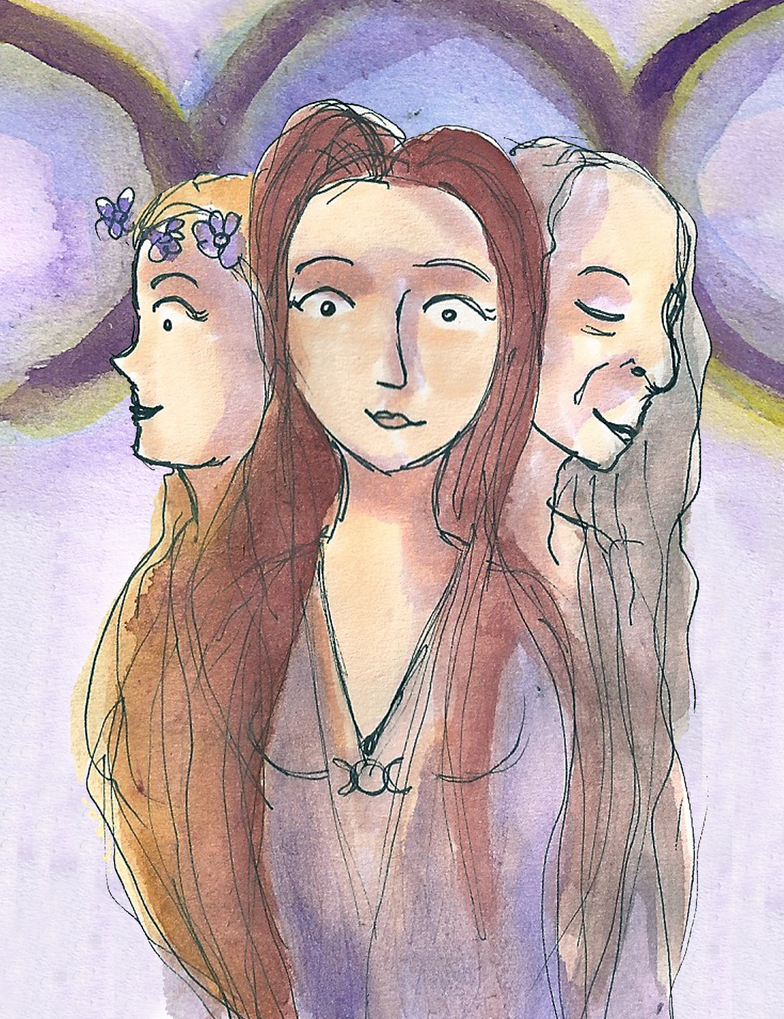 three women by EmmyvanRuijven