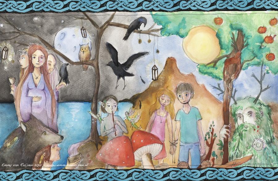Celtic Pagan World by EmmyvanRuijven