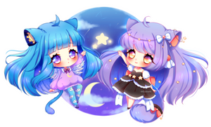 Commission: Moly and Hanin ~