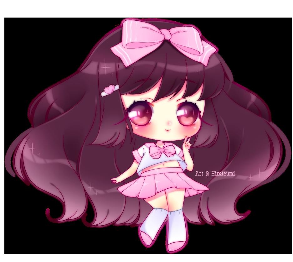 Simple Chibi - Cute Girl by Hiratsumi on DeviantArt