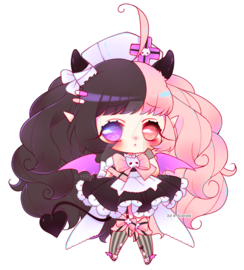 Simple Chibi Cute Evil By Hiratsumi On Deviantart