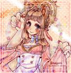 [AT] I'm cute, right?~
