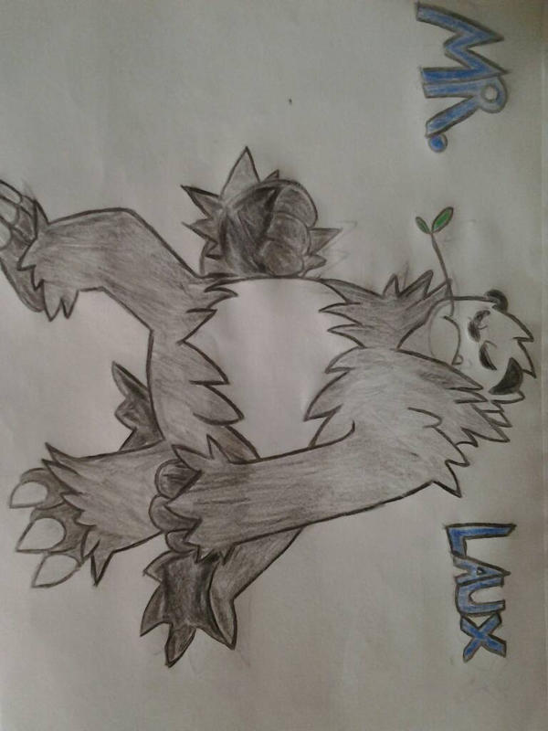 pangoro!!!!! by awesomedragster