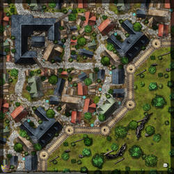 Town-Wall-Map-A