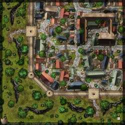 Town-Wall-Map-B