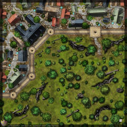 Town-Wall-Map-C