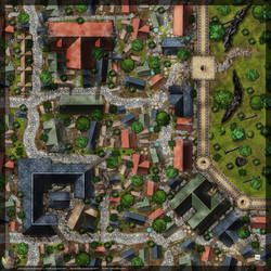 Town-Wall-Map-E