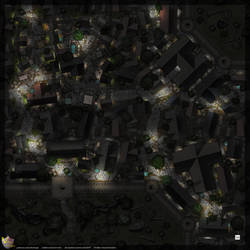 Town-Wall-Map-Night-C