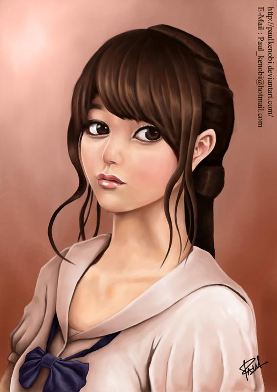 Thai Girl Student by Paulkenobi