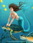 Mermaid Sea Turtle: COLORS