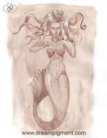 Sepia Mermaid Test
