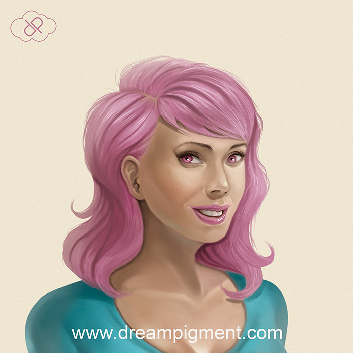 Face Study 11 by DreamPigment