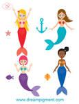 Cute Mermaid Set 2018