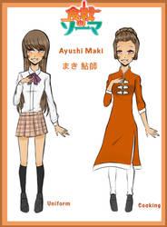 | SnS | Ayushi Maki profile