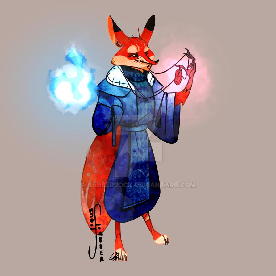 Kitsune Final by Jabberjock