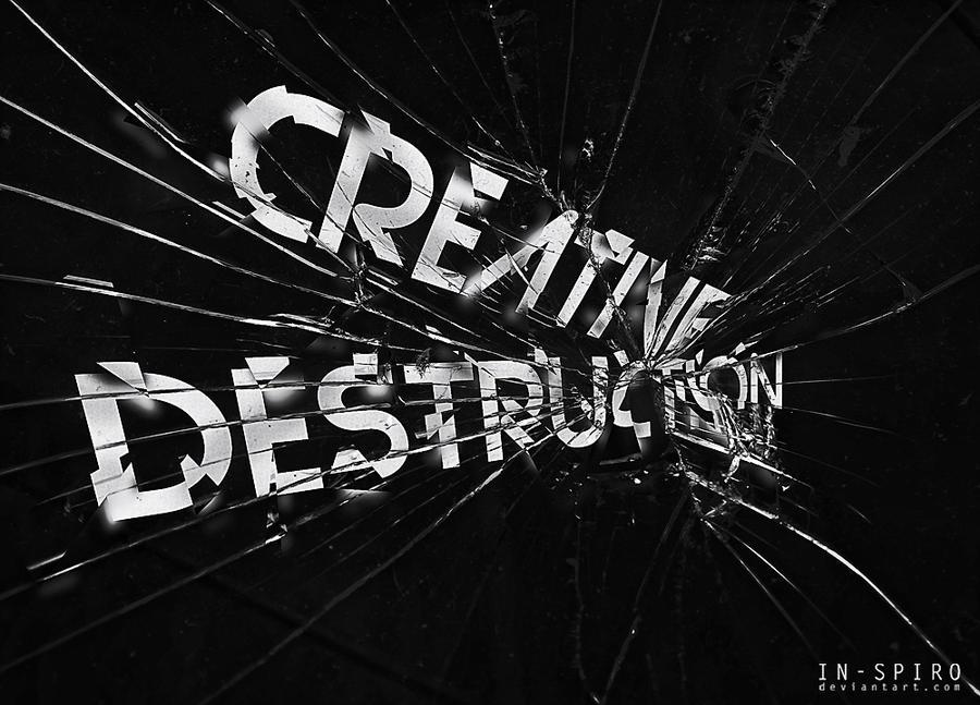 Creative destruction by in-spiro
