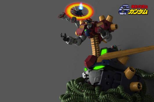 God Gundam VS Devil Gundam
