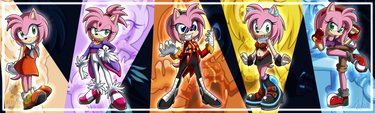 30OC Sonic Cosplays By MetalPandora