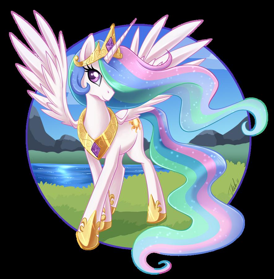 Princess Celestia by MetalPandora