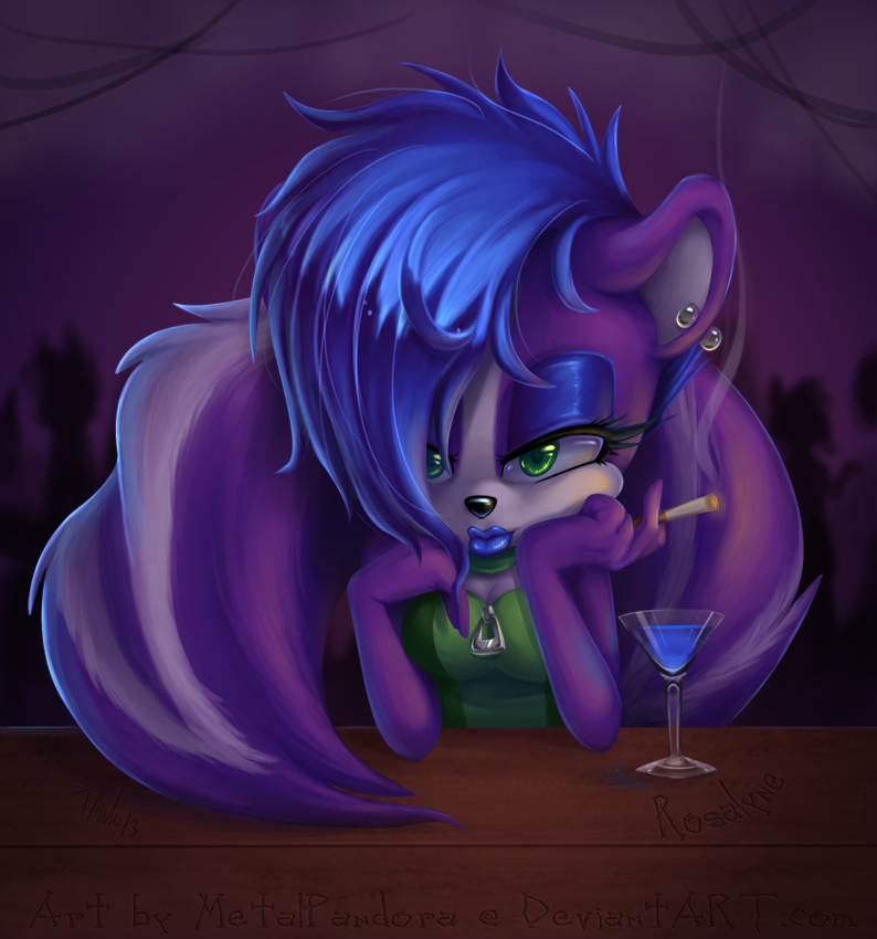 Blue Martini by MetalPandora