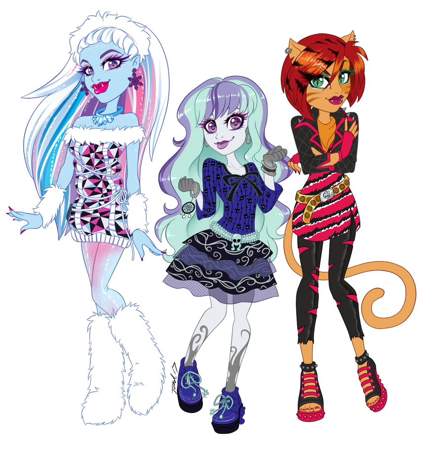 Com: Monster Gals by MetalPandora