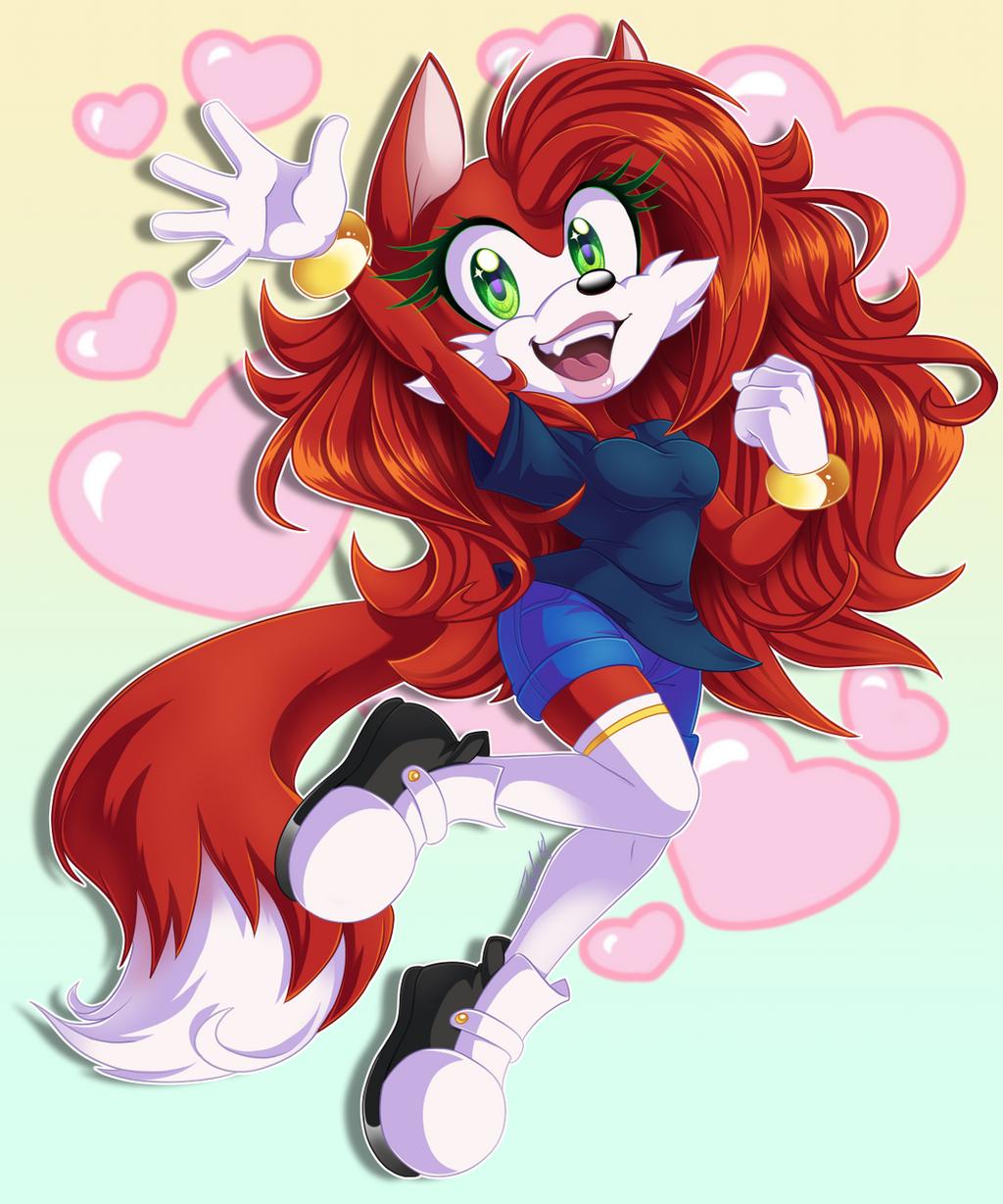 Eva the Fox by MetalPandora