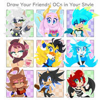 Draw Your Friends PART 2