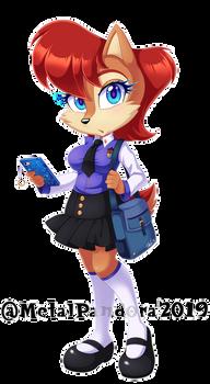 Schoolgirl Sal