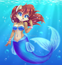 Mermaid Sally