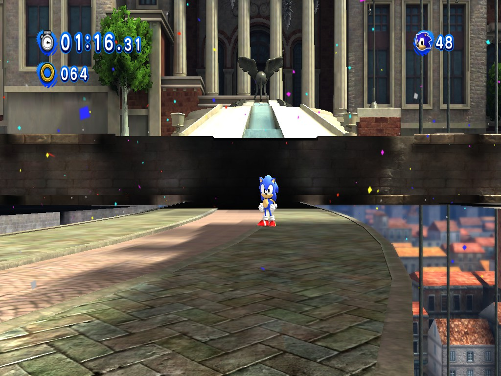 Classic Sonic... IN 3D!! by UKD-DAWG