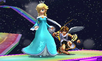 Rosalina and Pit by UKD-DAWG