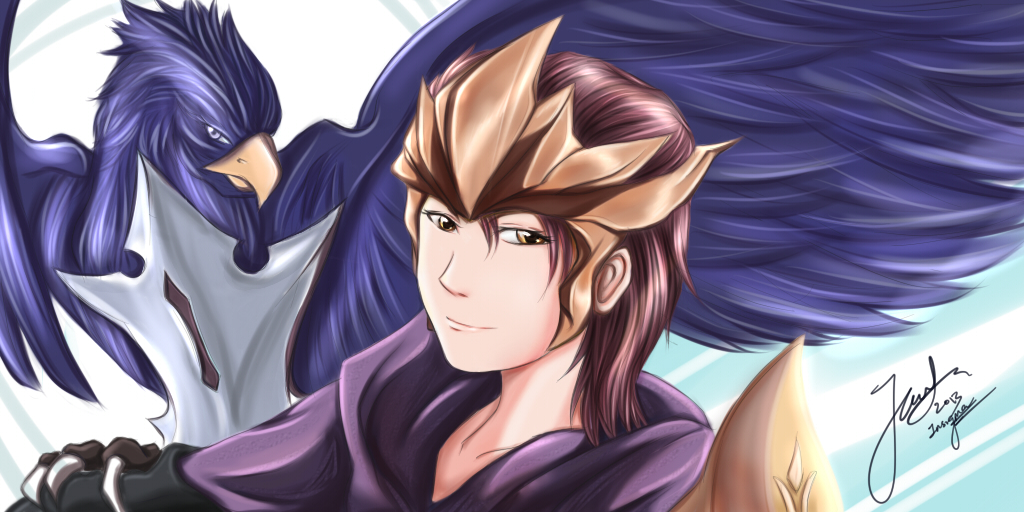 Personnage - Quinn Quinn_and_valor_ft_akxas_by_spectra6234-d6zppxc