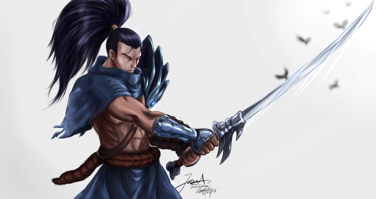 Yasuo, the Unforgiven by spectra6234