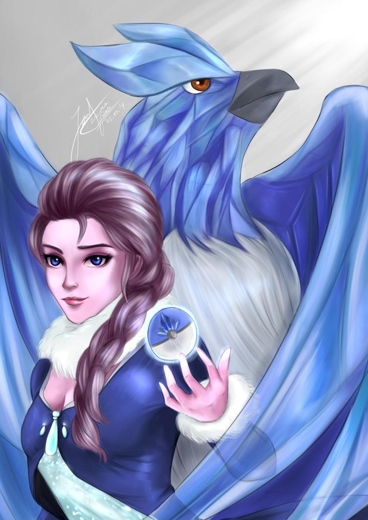 Elite Four Elsa by spectra6234