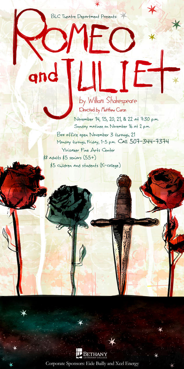 Romeo And Juliet Poster By AmandaQuist
