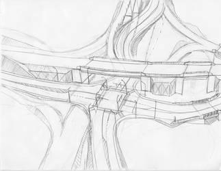 Interchange Under Construction by StudioOtaking