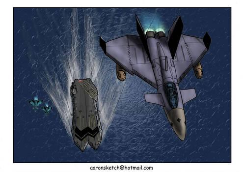 VF-5 Over Uraga