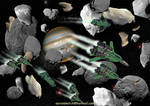 Republican TF-3 Raptor raid on Jupiter Station