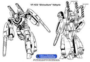 VT-1CS 'Silviculture' Valkyrie Lineart